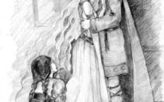 Как Тристан нашел Изольду (из легенд двора короля Артура)